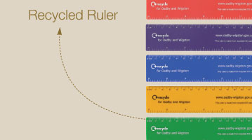 Recycled Ruler