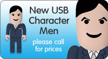 New USB Character Men